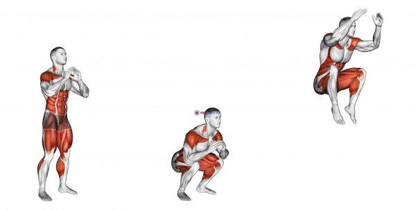 Squat Tuck Jump