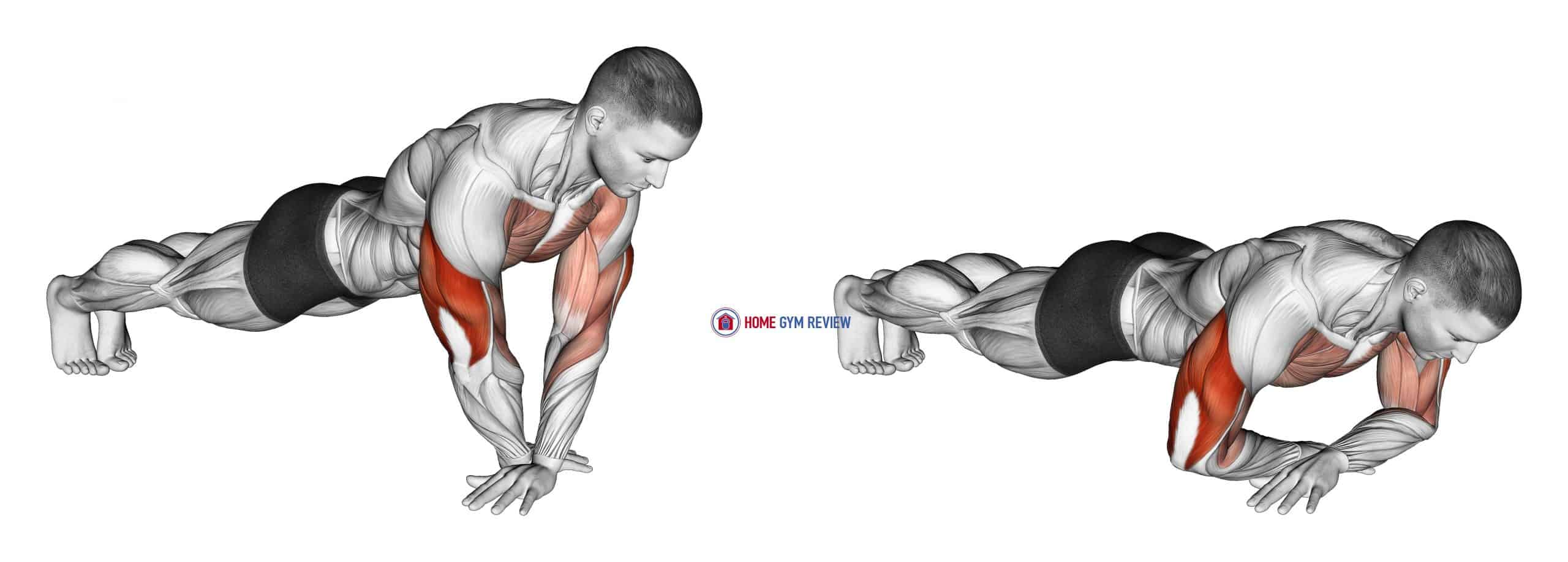 Cross Arms Push-up