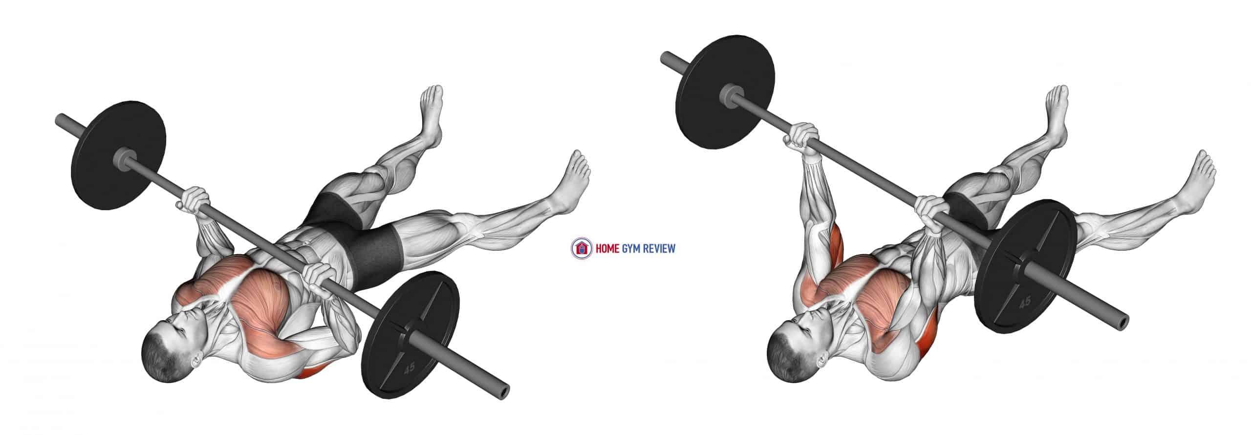Barbell Reverse-Grip Floor Press